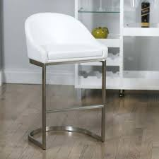 White Metal Bar Stool Wood Bar Stools With Backs And Arms Medium Size Of Extraordinary