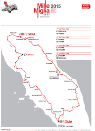 Brescia Italy Map by 1000 Mile Race Italy Mille Miglia 2015 Map Since 1977 The