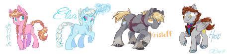 frozen ponies by graystripe64 on deviantart