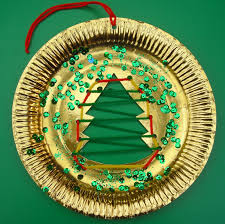paper plate christmas decorations u2013 decoration image idea