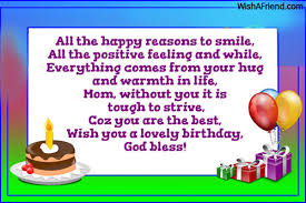 55th Birthday Quotes Birthday Wishes For Mom