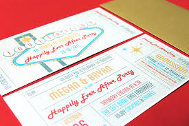 vegas wedding invitations las vegas themed wedding invitations wedding invitations in las