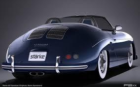porsche 356 replica starke speedster reveals plans for 986 987 based u201c357 u201d u2013 p9xx