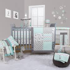 Nursery Bed Set Peanut Shell Uptown Giraffe 5 Bedding Set Cot Bumpers