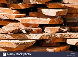 industrial raw wood material cut and stacked stock photo royalty
