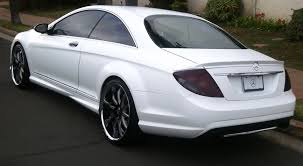 matte white bmw matte white mercedes cl550 lavish motoring inc