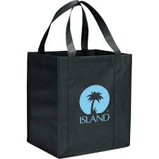 promotional hercules shopping bags with custom logo for 1 04 ea