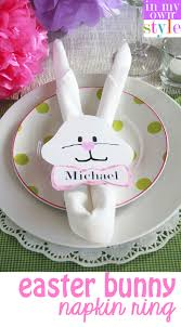 easter napkin rings easter bunny napkin ring template in my own style