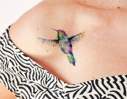 watercolor hummingbird tattoo designs ideas and meaning tattoos