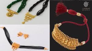 neck choker necklace images Gold choker necklace neck choker gold choker latest gold jpg