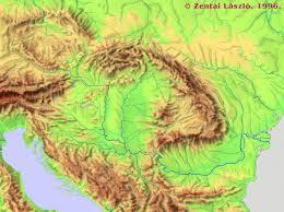 maps surroundings of hungary carpathian basin