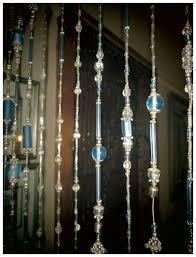 crystal glass acrylic shell metal custom beaded curtains