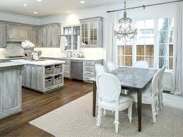 make distressed white kitchen cabinets brown modern laminate wood