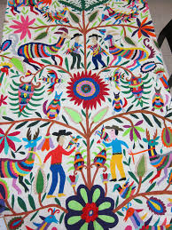 Fabric Patterns by Mexican Patterns Otomi Fabric And Textiles For Home Decoration