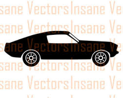 ford mustang vector etsy