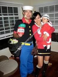 Dos Equis Halloween Costume Cheap Easy Popeye Olive Oyl Couple Halloween Costume