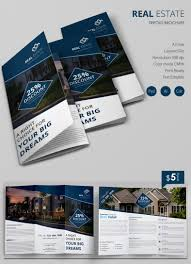 Real Estate Booklet Template by Excellent Real Estate A3 Tri Fold Brochure Template Free