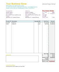 Free Excel Purchase Order Template 37 Free Purchase Order Templates In Word Excel