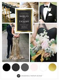 gold wedding theme make your big day glamorous with a black and gold wedding theme