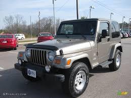 2004 light khaki metallic jeep wrangler sahara 4x4 5608413