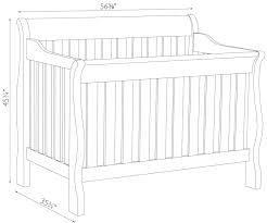 Crib Mattress Sizes Baby Crib Sizes Carum