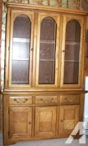 China Cabinet Hutches For Sale Solid Oak China Cabinet Antique Oak