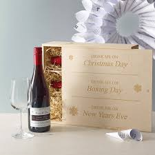 personalised corporate christmas wine by intervino