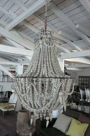 Beaded Chandelier Diy Wooden Bead Chandelier Chandelier Online