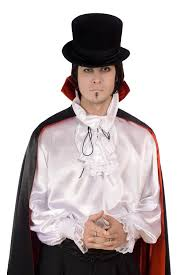 young man in a suit of count dracula stock photography image