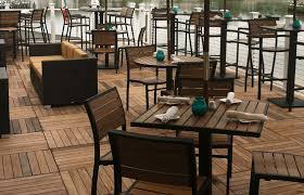 Commercial Patio Tables Get Ready For The Season With Outdoor Furniture Restaurant