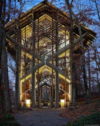arkansas u0027 thorncrown chapel is the glass church in the woods u0027so
