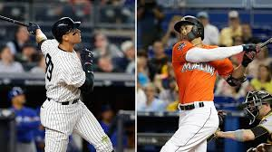 How Aaron Judge Became A Bomber The Inside Story Of The Yankees - giancarlo stanton aaron judge get compared new york yankees