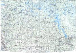 Winnipeg Map Download Topographic Map In Area Of Winnipeg Edmonton Calgary