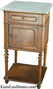 antique french nightstand repurposed to kitchen table my antique