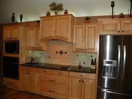 Kitchens With Maple Cabinets Interesting Kitchen Designs Maple Cabinets Walls With Going Www