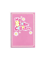 pink photo album sticker album paper projects