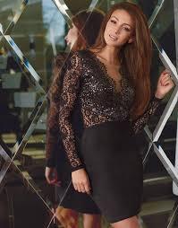 12 40 black lace dress fashion for women pinterest
