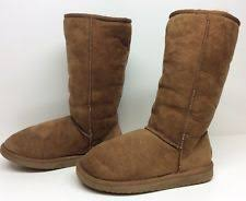 ebay womens winter boots size 11 wanderlust boston womens size 11 brown narrow regular suede winter