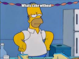 Homer Simpson Meme - homer simpson cake meme the best cake of 2018