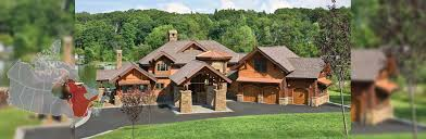 quebec log and timber frame homes by precisioncraft