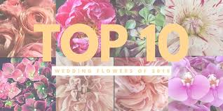 Wedding Flowers Questionnaire Top 10 Wedding Flowers Of 2016 U2014 Fabloomosity Floral Atelier