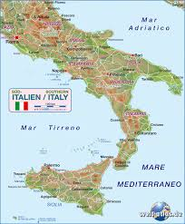 Campania Italy Map by Map Of Southern Italy Italy Map In The Atlas Of The World