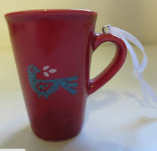 mug ornament peet s coffee coffee house collectibles