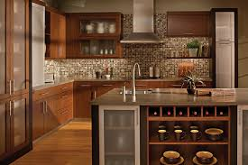 kitchen cabinets with backsplash kitchen backsplash cherry cabinets black counter