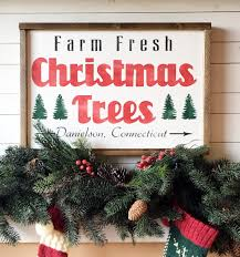 farm fresh christmas trees small wood