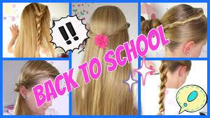 Frisuren Zum Selber Machen Schnell Und Einfach by Back To 5 Einfache Und Schnelle Frisuren 3minuten
