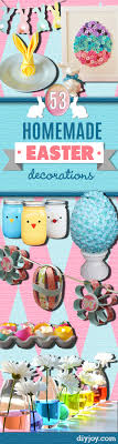 homemade easter decorations for the home 48 diy easter decorations you need right now
