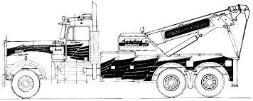 kenworth truck wreckers australia the blueprints com blueprints u003e trucks u003e trucks u003e kenworth w900