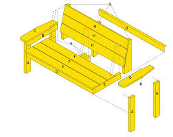 Simple Wood Bench Plans Free by 83 Best Outdoor Projects With Plans Images On Pinterest Outdoor