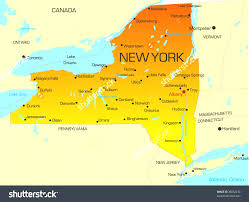 Canada On A Map A Map Of Ny Travel Maps And Major Tourist Attractions Maps